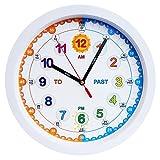 orologio da parete misura grande, motivo, orologio moderno facile da leggere