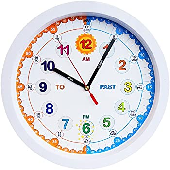 Aniclock Time Teacher Children Wall Clock Easy To Read