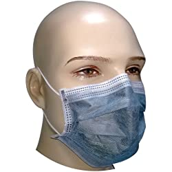 Filtra Disposable Air Pollution Face Mask with Activated Carbon 50 Pcs (TT-4BEM-AC)