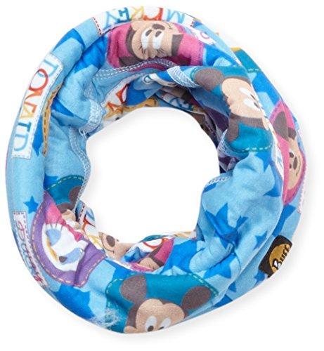 Panno/tubo sciarpa baby polar floky - disney mickey party/icicle, one size