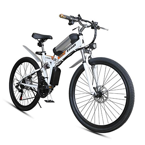 512NZRZmtYL. SS500  - GTYW, Electric, Folding, Bicycle, Mountain, Adult Moped, Mountain Electric Car, 26-inch Smart Electric Car, 36V 250W, Rear Engine, 110km Long Battery Life, Lithium-ion Battery