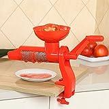 Salsa de tomate exprimidor exprimidor Manual Manual de plástico para el Zumo de tomate accesorios de cocina multifuncional gadgets Herramientas de frutas