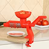 Tomaten Sauce Saftpresse Entsafter Kunststoff Hand Handbuch für Tomaten Saft multifunktionale...