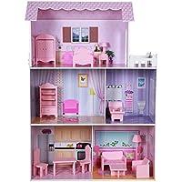 ColorBaby - Casa muñecas madera 80 x 31 x 113 cm (85293)
