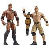 WWE The Rock vs John Cena Figures