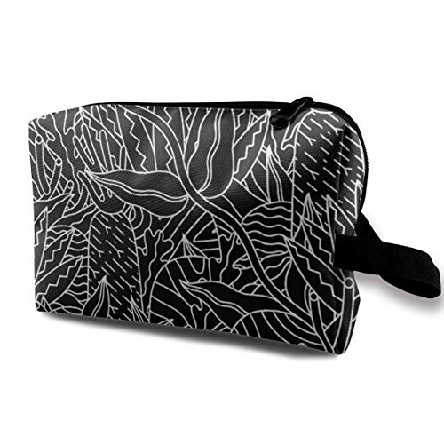 Plants Makeup Storage Bags Organizer Clutch Pouch For Women