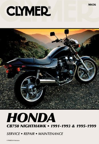 Clymer Honda: Cb750 Nighthawk, 1991-1993 and 1995-1999 (Clymer Motorcycle Repair Manuals) by Penton Staff (2000-05-24)