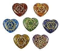 * Beautiful 7multistone Reiki con simbolo chakra Set * Colore: Multicolor * Materiale: * * * * * * * * * Bella aggiunta per ogni collezione, il chakra è una potente energia lente d' ingrandimento e può essere utilizzata nella cura, compensaz...
