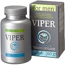 Viper For Men 60Pastillas para Aumentar la potencia–Libido píldoras vitaminées