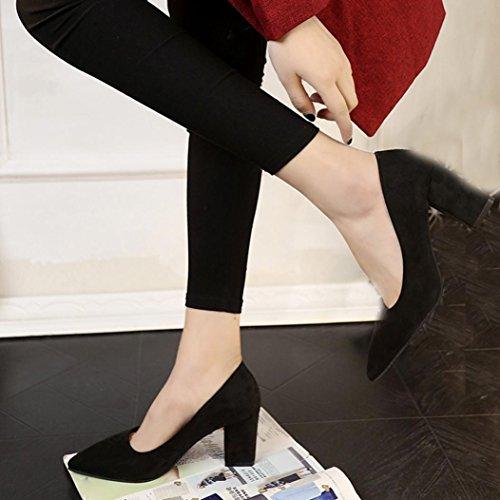 Grau Wildleder Sie Mokassins High Spitzen Heel Bitte Damen Größer bitte Keilabsatz Rot Eine Die Transer® Schuhe Einzelschuhe Schwarz Größentabelle Auf Achten Nummer Bestellen xFqpXt6nn