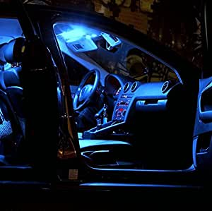 2x Lampe de lecture LED SMD Éclairage en bleu