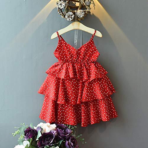 Zylione Mädchen Kleid Baby Sommer Liebe Druck Hosenträger Kuchen Rock Prinzessin Kleid Kinder Tag Geschenk