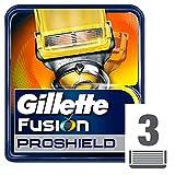 Gillette Fusion ProShield Lame di Ricambio per Rasoio, 3 Testine