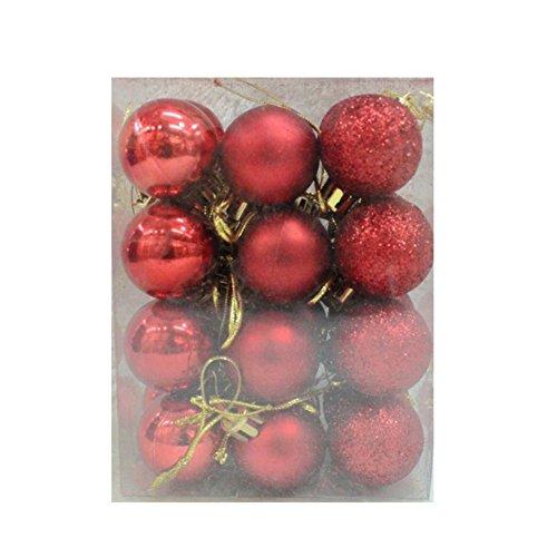 eihnachtskugeln Baumschmuck Weihnachten Deko Anhänger Hängende Ornamente für Indoor Outdoor Weihnachtsbaum, Holiday Party, Inneneinrichtungen ()
