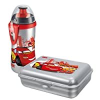 NUK 10225090 - Pausenset Disney Cars, BPA frei