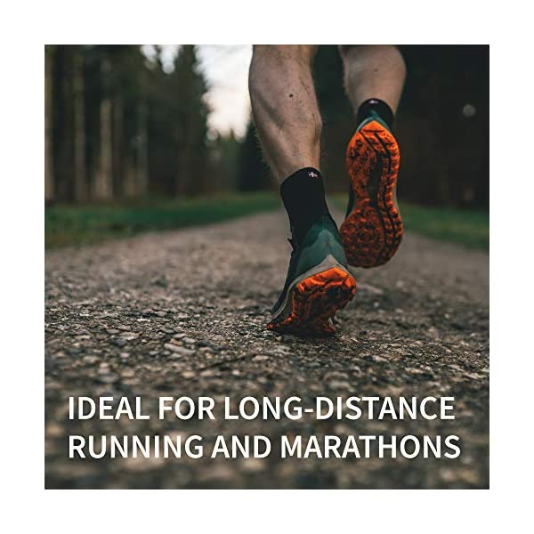 DANISH ENDURANCE Calzini da Corsa, per Uomo e Donna, per Lunga Distanza, Running, Sport e Fascite Plantare, Calze Anti… 5 spesavip