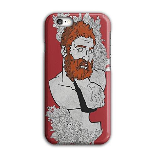 Bart griechisch Nerd Mode Faust Schmerz iPhone 6 / 6S Hülle | (Nerd Paar Kostüme)