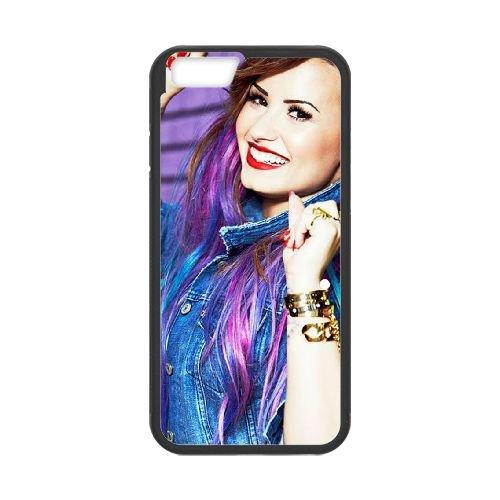 Demi Lovato coque iPhone 6 Plus 5.5 Inch Housse téléphone Noir de couverture de cas coque EBDXJKNBO10787