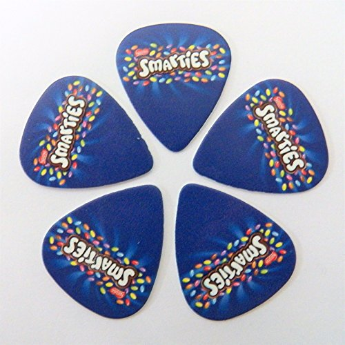 smarties-nestle-chicchi-di-cioccolato-dolci-stampato-plettro-plettri-set-di-5