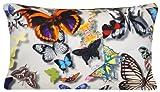 DESIGNERS GUILD Schmetterling Parade Kissenbezug Stoff Digitaldruck Dekorativer Überwurf-Kissenbezug Fall 50,8x 30,5cm