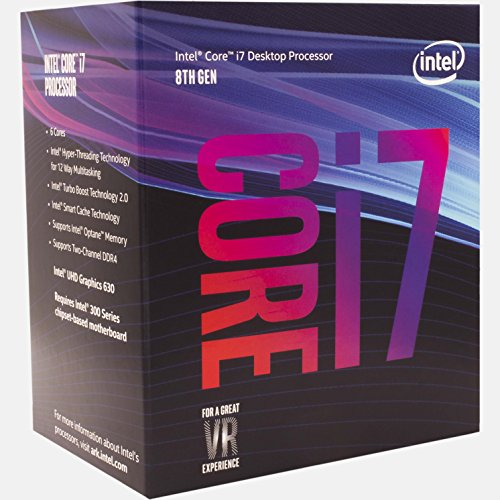 Intel Core i7-8700 3,20GHz Boxed CPU