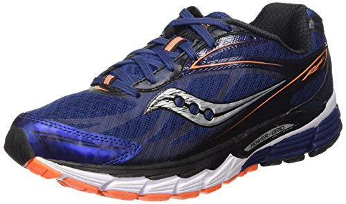 Saucony Ride 8, Scarpe da Corsa Uomo Blu (Midnight/Black/Orange)