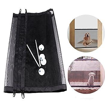 Pour Animal domestique Chien Gate Safe Guard, bébé et pliable portable pour animal domestique Barrière de sécurité, distance de garder pour vos animaux domestiques à partir de cuisine et en extérieur