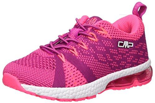 CMP Campagnolo Unisex-Kinder Knit Fitness Fitnessschuhe, (Hot Pink), 31 EU