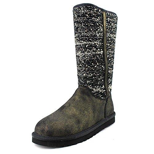 UGG Australia Camaya, Damen Mokassins, Schwarz - Schwarz - Größe: EU 37 (US 6) (Schwarz Ugg Stiefel Frauen Größe 6)