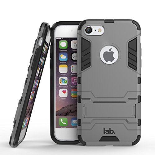 iPhone 7 slim back case cover matte finish labrador iphone 7 cases and covers (Grey)