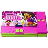 Toyvala Dora Gadget Pencil Box Best Quality With Calculator--Jumbo Pencil Box-Kids Multi Purpose