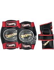 Hot Wheels juego de niña HW Big Logo Tri-pack, negro/rojo/amarillo, S, 980317