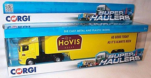 corgi-toys-yellow-hovis-box-truck-superhauler-lorry-164-scale-diecast-model