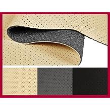 Kunstleder Leder PVC Sitzbezug perforiert kaschiert T130/_01 Beige