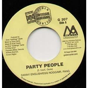 "PARATY PEOPLE/GUNSHOT RAIN 7"" (45) US MUSIC AMBASSADOR 0 SPLIT SINGLE (G207)"