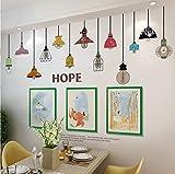 Wandaufkleber Wanddekorationen selbstklebende Tapete Schlafzimmer Hintergrund Wandbild
