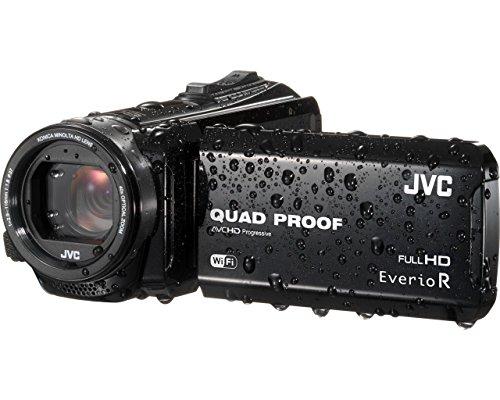 JVC GZ-RX610BEU Full HD Speicherkarten-Camcorder schwarz