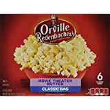 Popcorn Micro-ondes Orville Redenbacher Movie Theater Butter (6 sacs/559g)