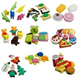 Radiergummi Süß Essen Tiere Früchte Spielzeug Nachmachung Gummi Set 1 Stück - Küchen Produkte