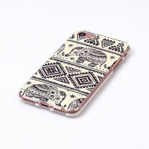 """inShang Hülle für iPhone 7 4.7"""" ,Ultra Schlank und leicht TPU Bequem Schutzhülle Rückcover (Back Case) design für Handy iPhone7 4.7 inch, 06"""
