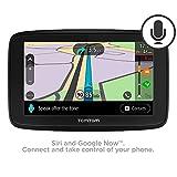 "TomTom VIA 53 5"" Sat Nav with Lifetime European map updates via WI-FI, Lifetime TomTom Traffic, hands-free calling & voice control."