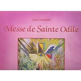 messe de saint odile - oeuvres pour orgue et trompette (33 tours)