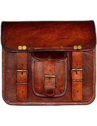Skorzany Leather Crossbody Sling Bag For Women (Brown)