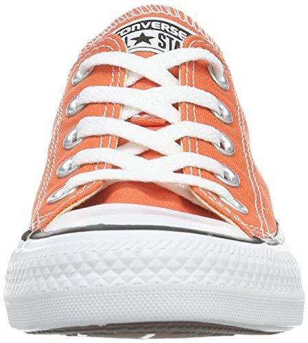 Converse Unisex-Erwachsene Chuck Taylor All Star Low-Top Orange (My Van Is On Fire)