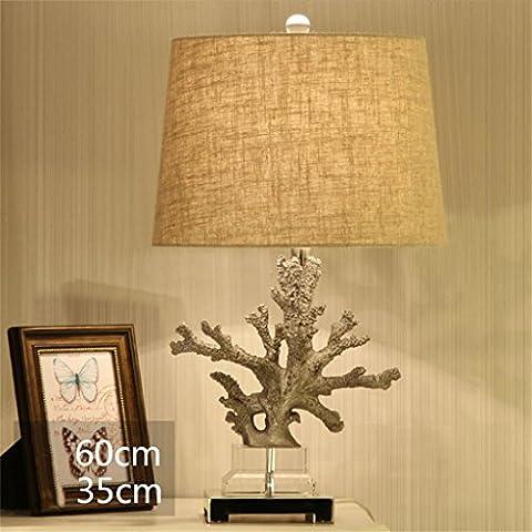MEHE HOME-Corallo creativo lampada da tavolo decorativo