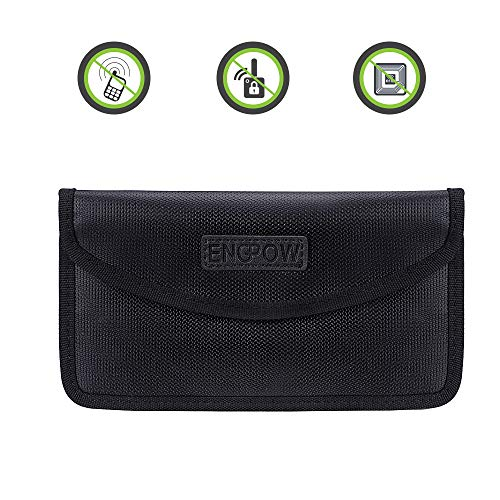 Signal Blocker Autoschlüssel Handy Signalblocking Beutel Faraday Bag Fireproof Car Schlüsselanhänger Aufbewahrungstasche