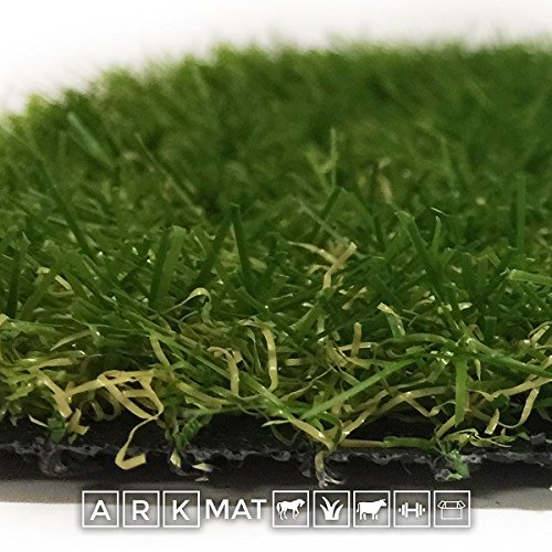 ARKMat Royal Erba Sintetica Altezza 2 cm Misura 4 x 3 Metri Doppio Colore Effetto Reale Drenante e Resistente Raggi UV