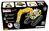 Metal Construction Model Kit Liebherr Excavator Digger 1283 parts 1:25 real function tools + picture instructions mechanical building set collectable toy freewheel male boy age 12+ STEM Tronico