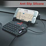 #5: Haneez Car Mount Charging Stand for iPhone Samsung etc Smartphones - Black, Imported / High Quality, Designed in Hong Kong