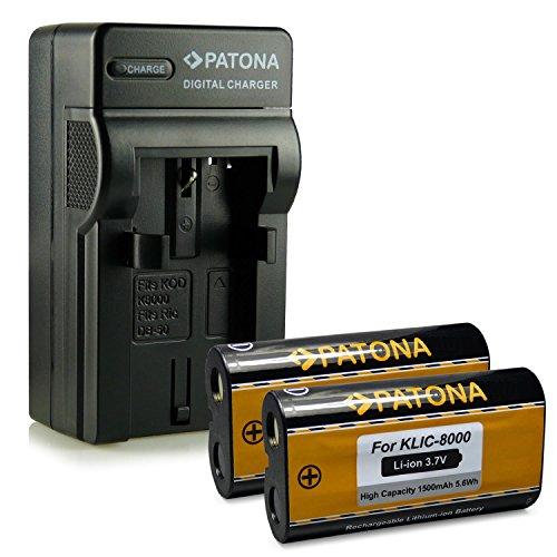 nouveaute-4en1-chargeur-2x-batterie-comme-kodak-klic-8000-ricoh-db-50-pour-kodak-easyshare-z612-z712